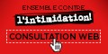 Ensemble contre l'intimidation! Participez à la consultation Web sur la lutte contre l'intimidation.