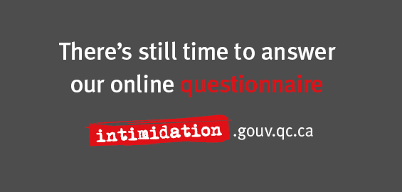 Answer our online questionnaire